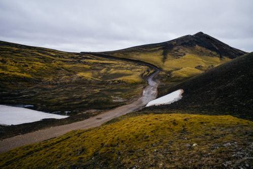 Cinder road.