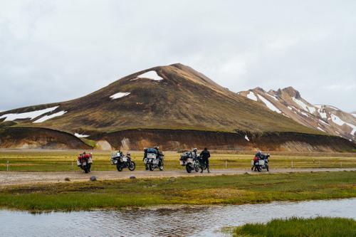 Moto crew.
