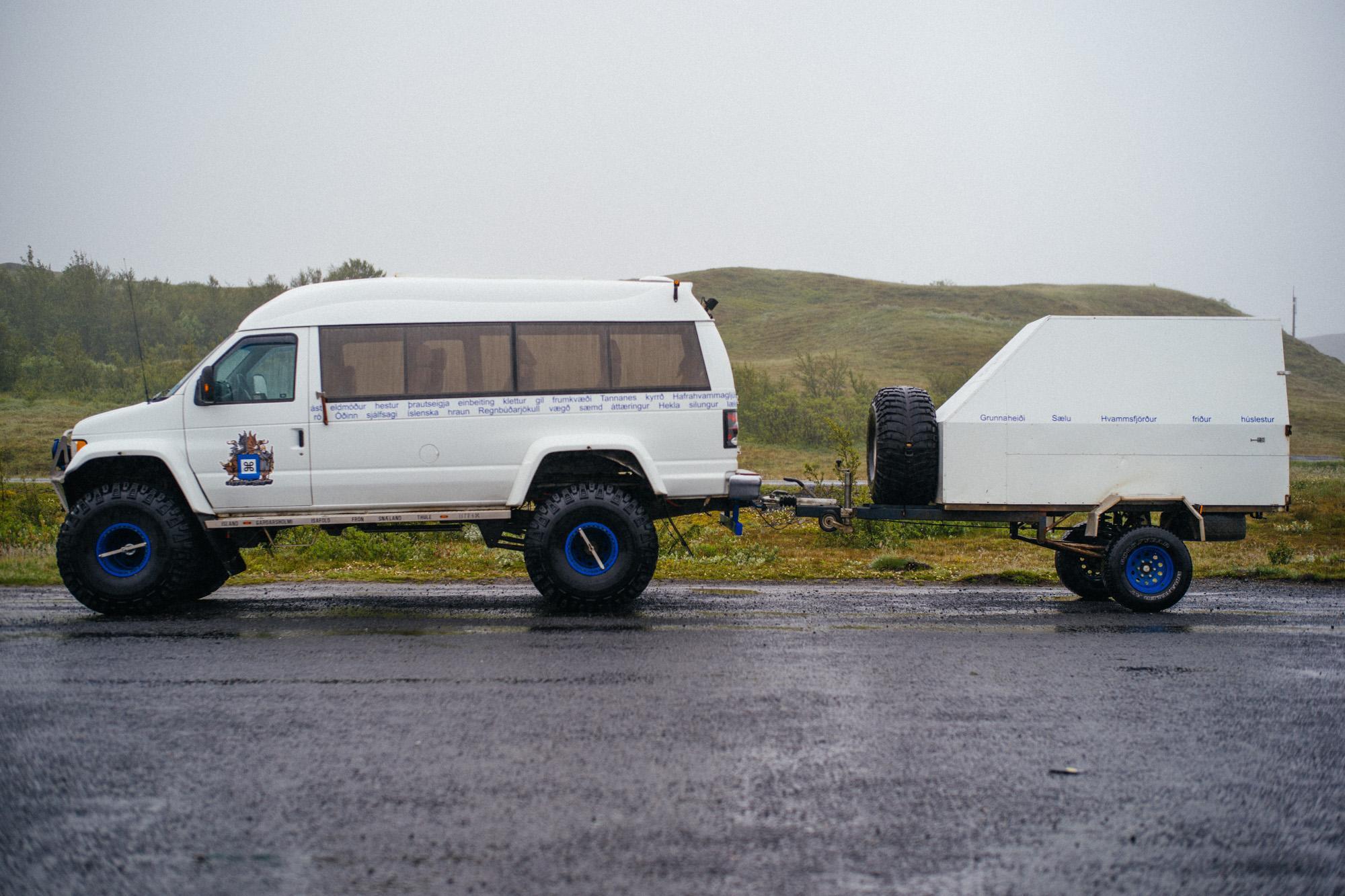 Arctic van.