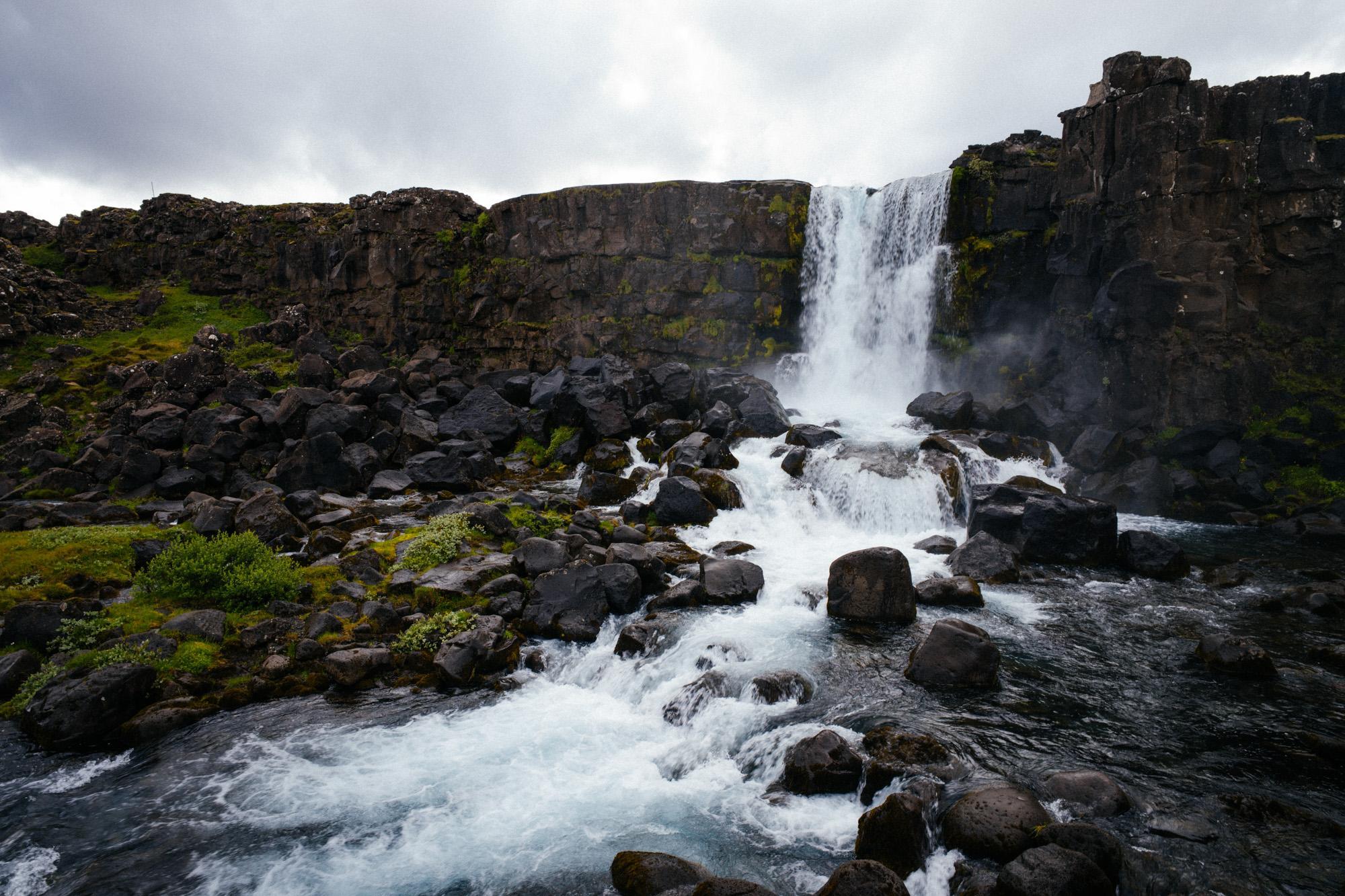 More waterfalls. Meh.