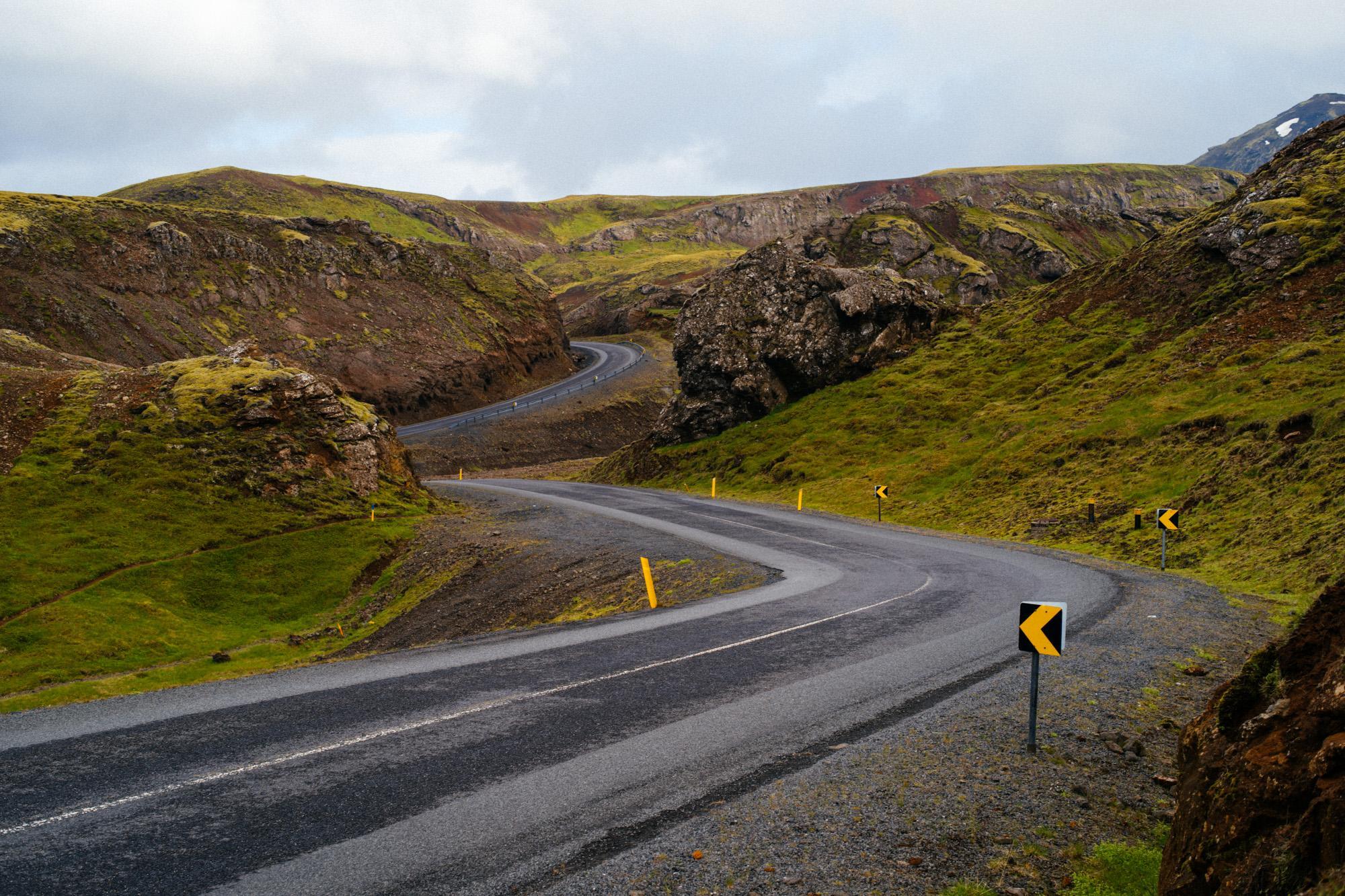 Nesjavallavegur highway