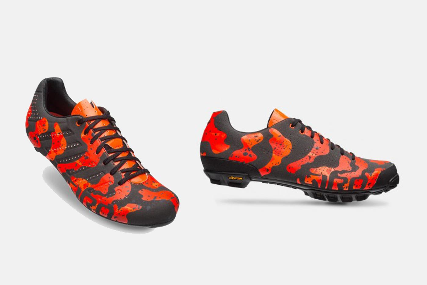 Giro's Limited Edition Lava Shoes