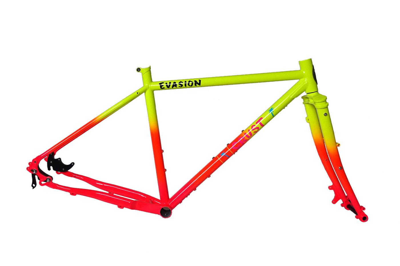 In Crust We Trust: New Evasion Frameset Pre-Order