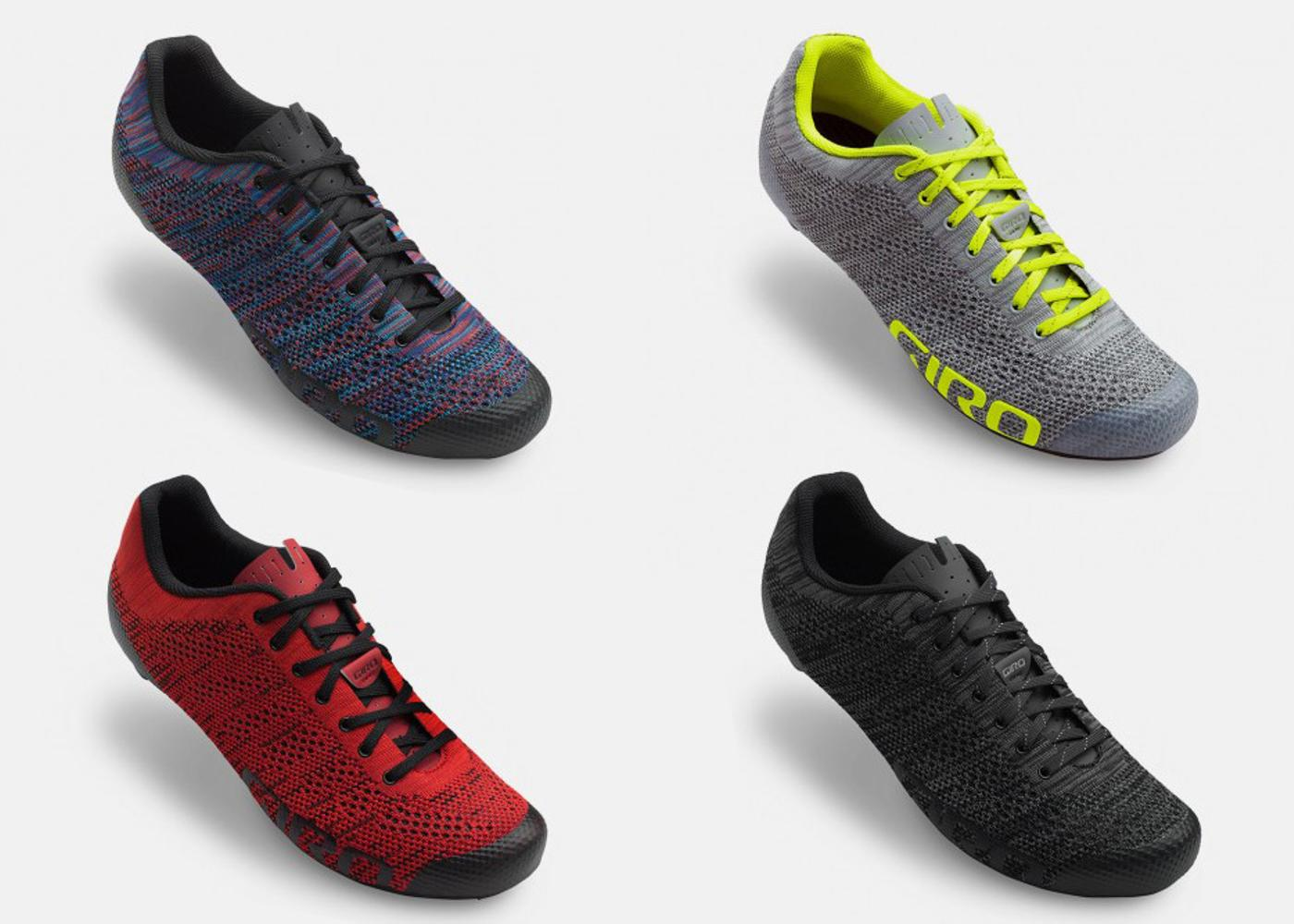 Giro's New Empire E70 Knit Road Shoes