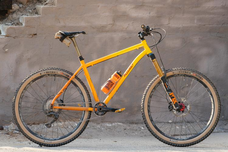Golden Saddle Rides: Nathan's San Gabriel Sunset Fade Ritchey Timberwolf