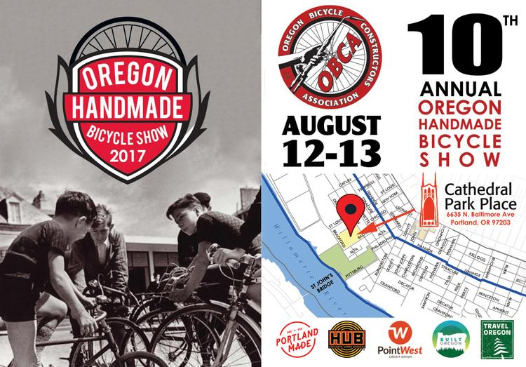The 10th Oregon Handmade Bicycle Show is This Weekend!