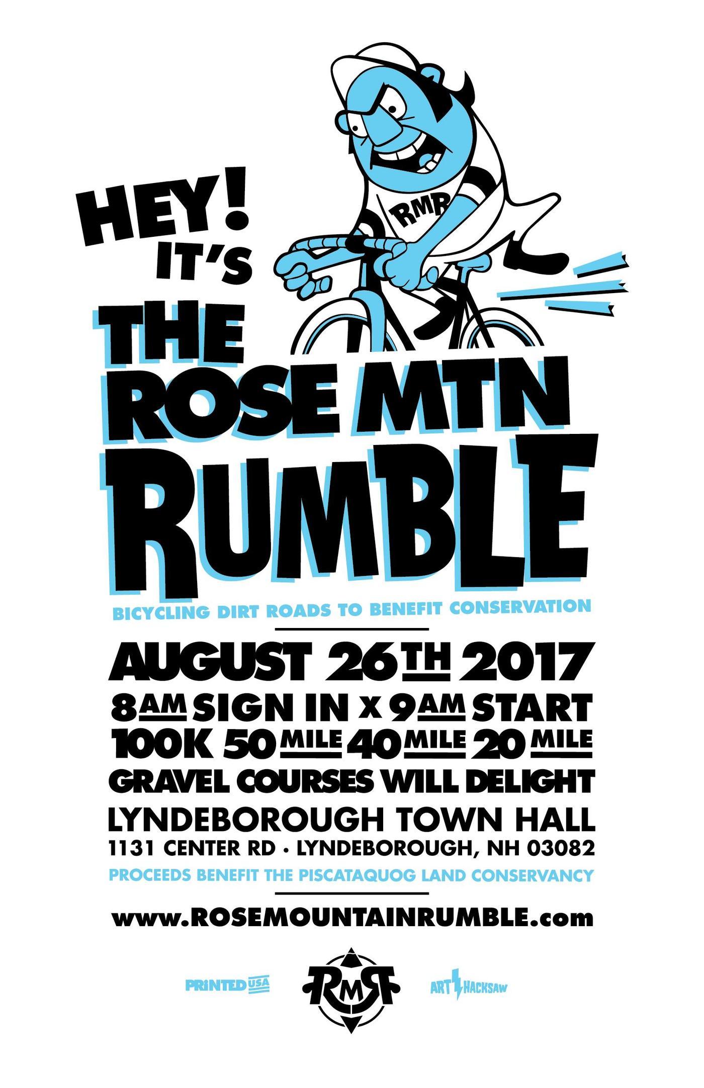 The Rose MTN Rumble Returns!