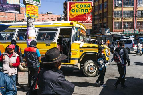 Bolivian public transport