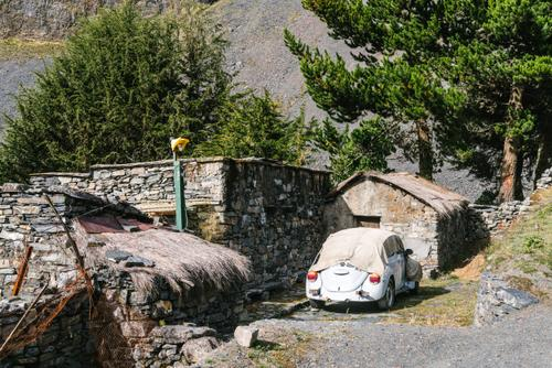 VW bugs are strangely popular in the Andes
