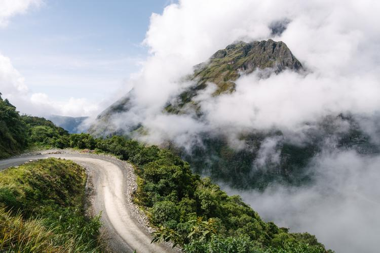 "Taking the ""Death Road"" to the Edge of the Bolivian Jungle"