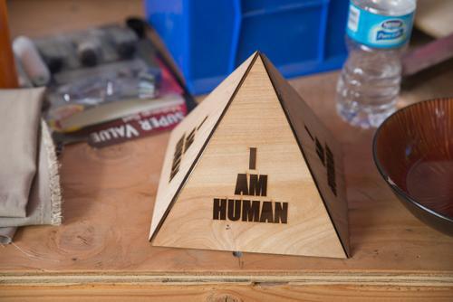 Sentient pyramid