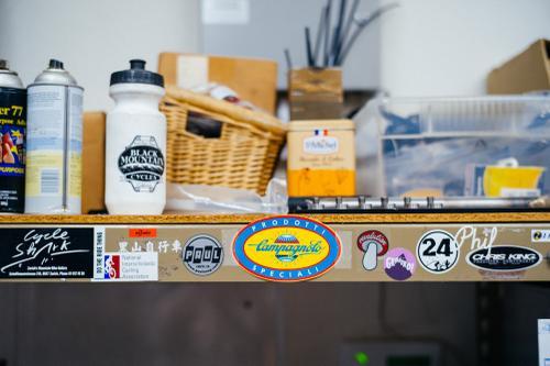 Shelf stickers