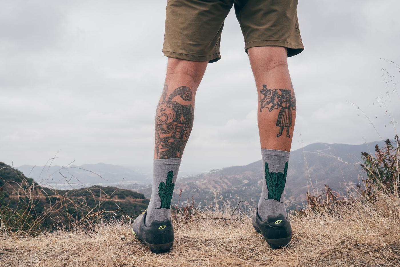 Don't Sleep on the DeFeet and Radavist Howdy Cacti Sock Pack!