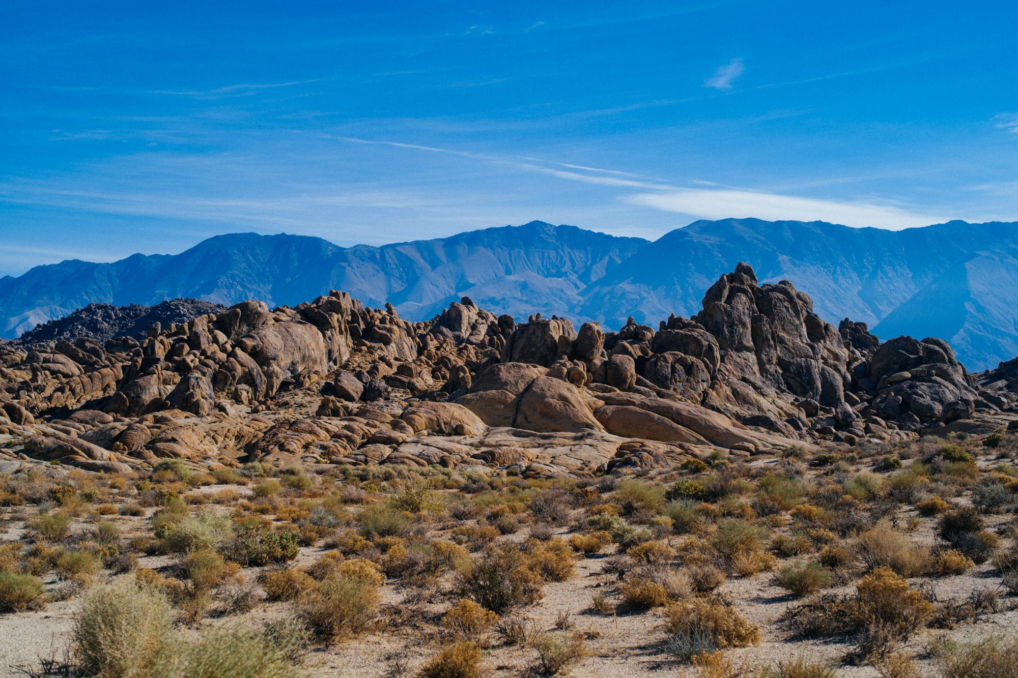 Morning from Alabama Hills