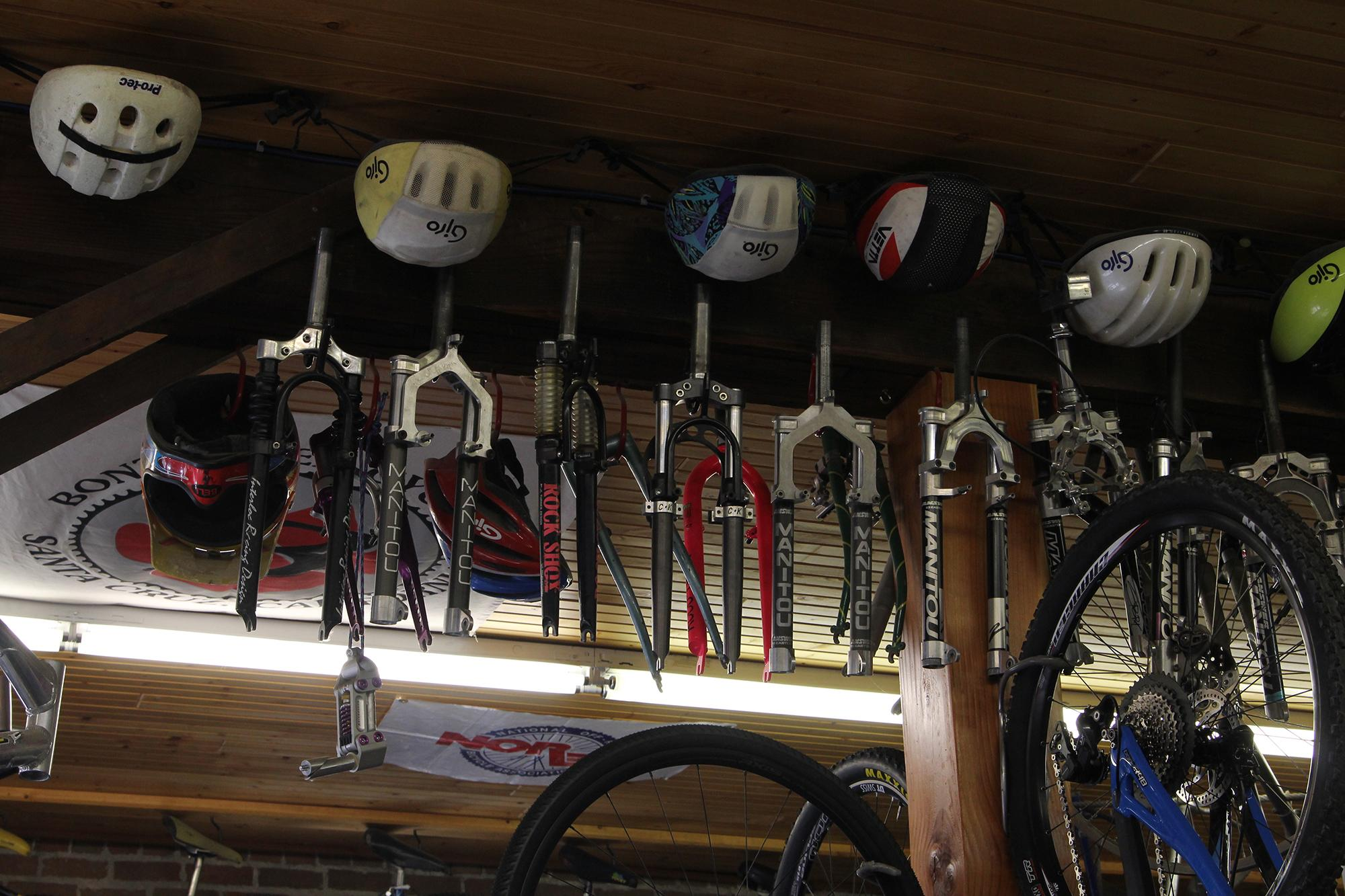 Vintage MTB goodness at Absolute Bikes in Salida