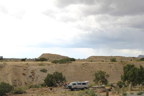 18 Road campsite