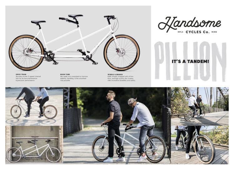 Handsome Cycles Pillion Tandem Bike