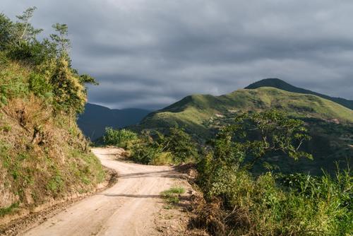 Climbing to Irupana