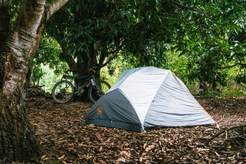 Village campsite