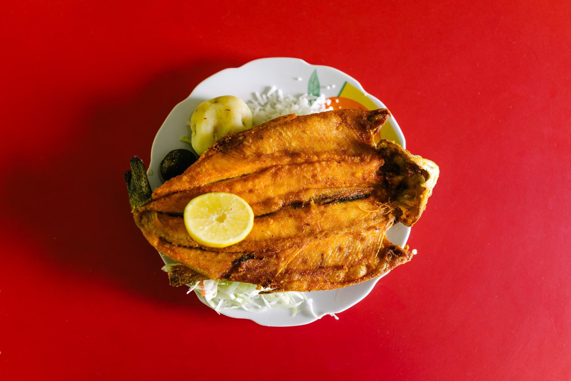 Trucha... An Andean staple