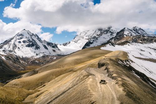 Huayna Potosí ridge road