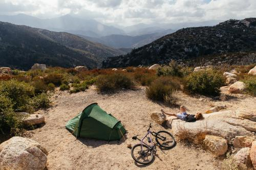 Camp scene.