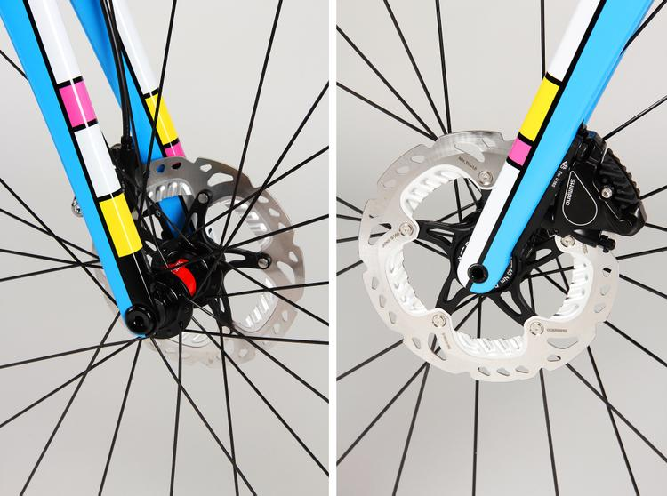 Firefly Bicycles: Tropical Mondrian
