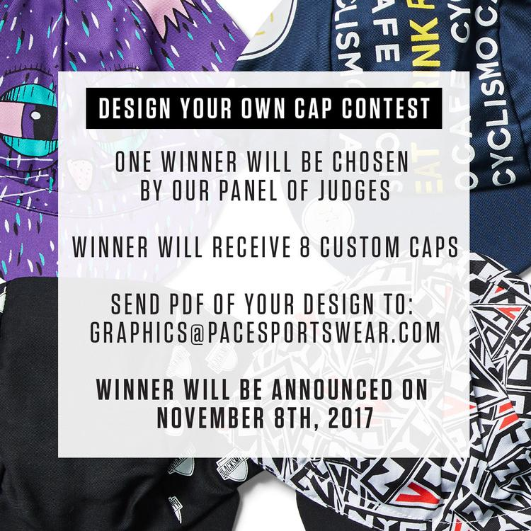 "The Pace Sportswear ""Design Your Own Cap"" Contest"