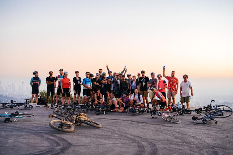 A Few from the Golden Saddle and Rapha Cycle Club LA Sunset Ride
