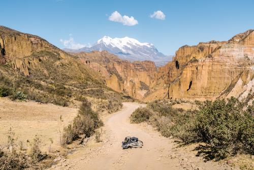 Descending into Palca Canyon