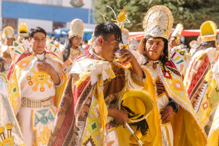 The Endless Fiesta in Bolivia's Kimsa Cruz