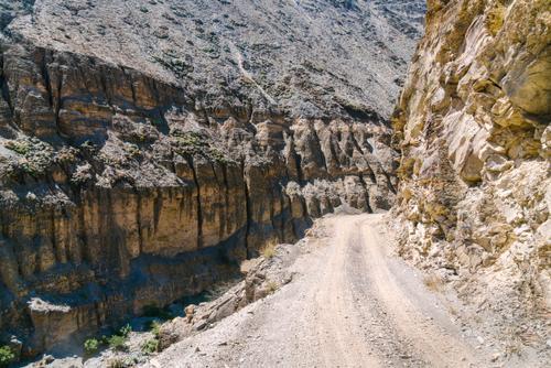 Canyon erosion