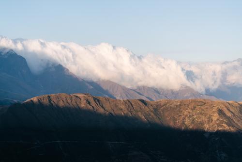 Ridgeline clouds