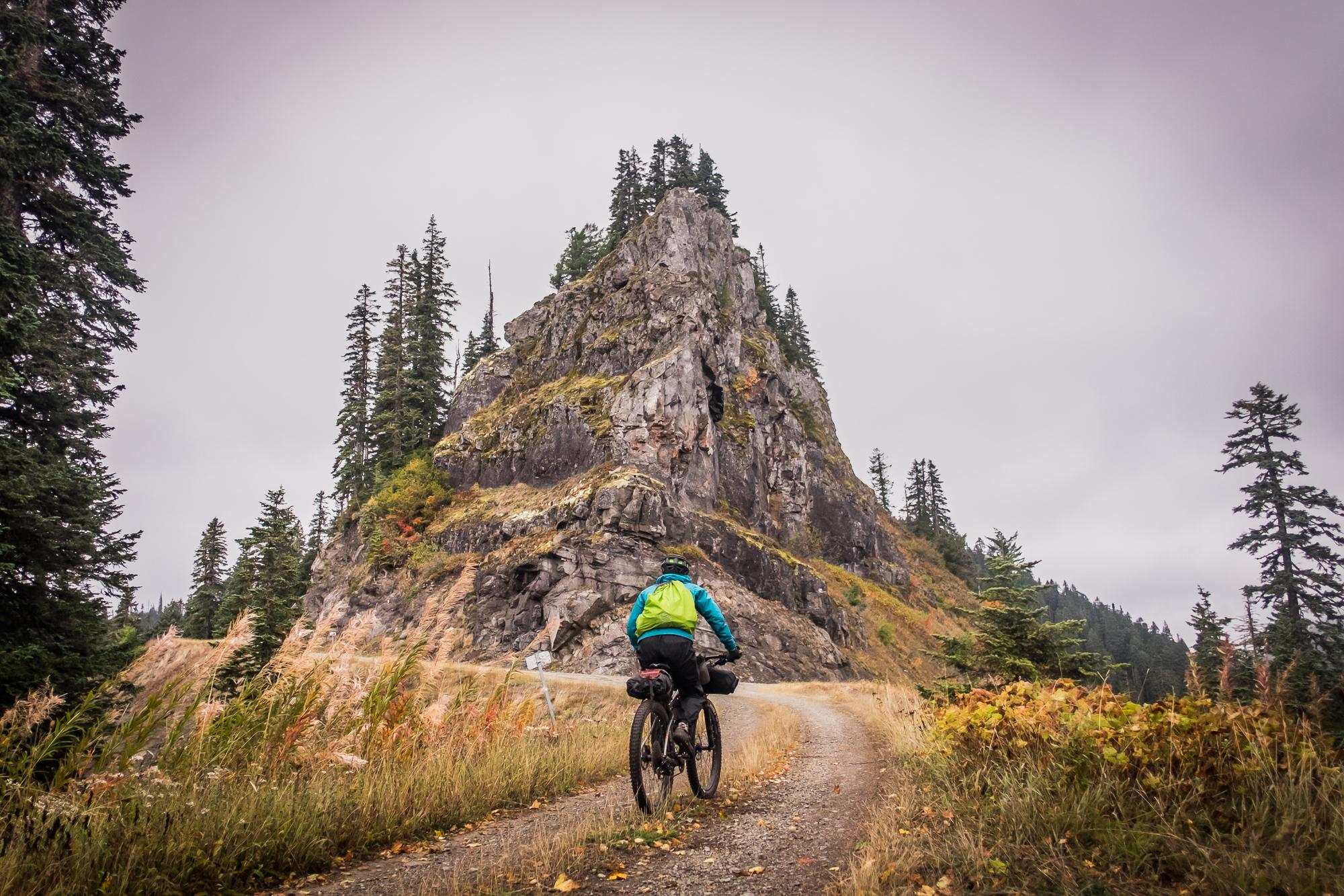Cougar Rock, a welcome intersection in the Gifford Pinchot.
