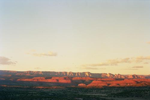 Sunset over Sedona