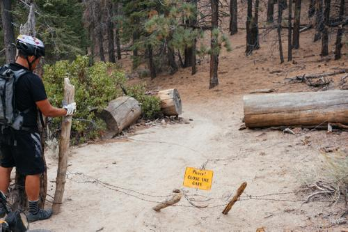 The Cannell Trail...don't call it a shuttle run!