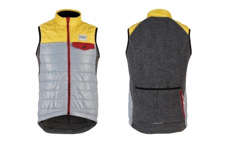 Café du Cycliste: Albertine Mens Thermal Cycling Gilet