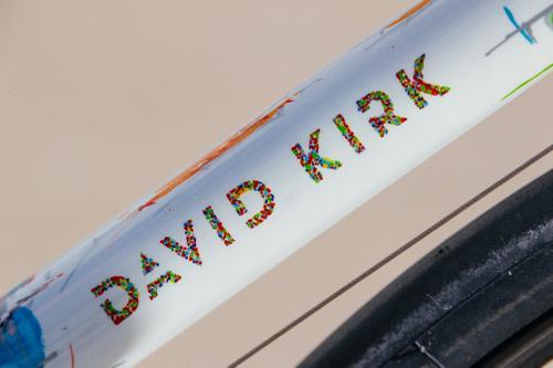 Jaybe's Pegoretti-Painted David Kirk Road