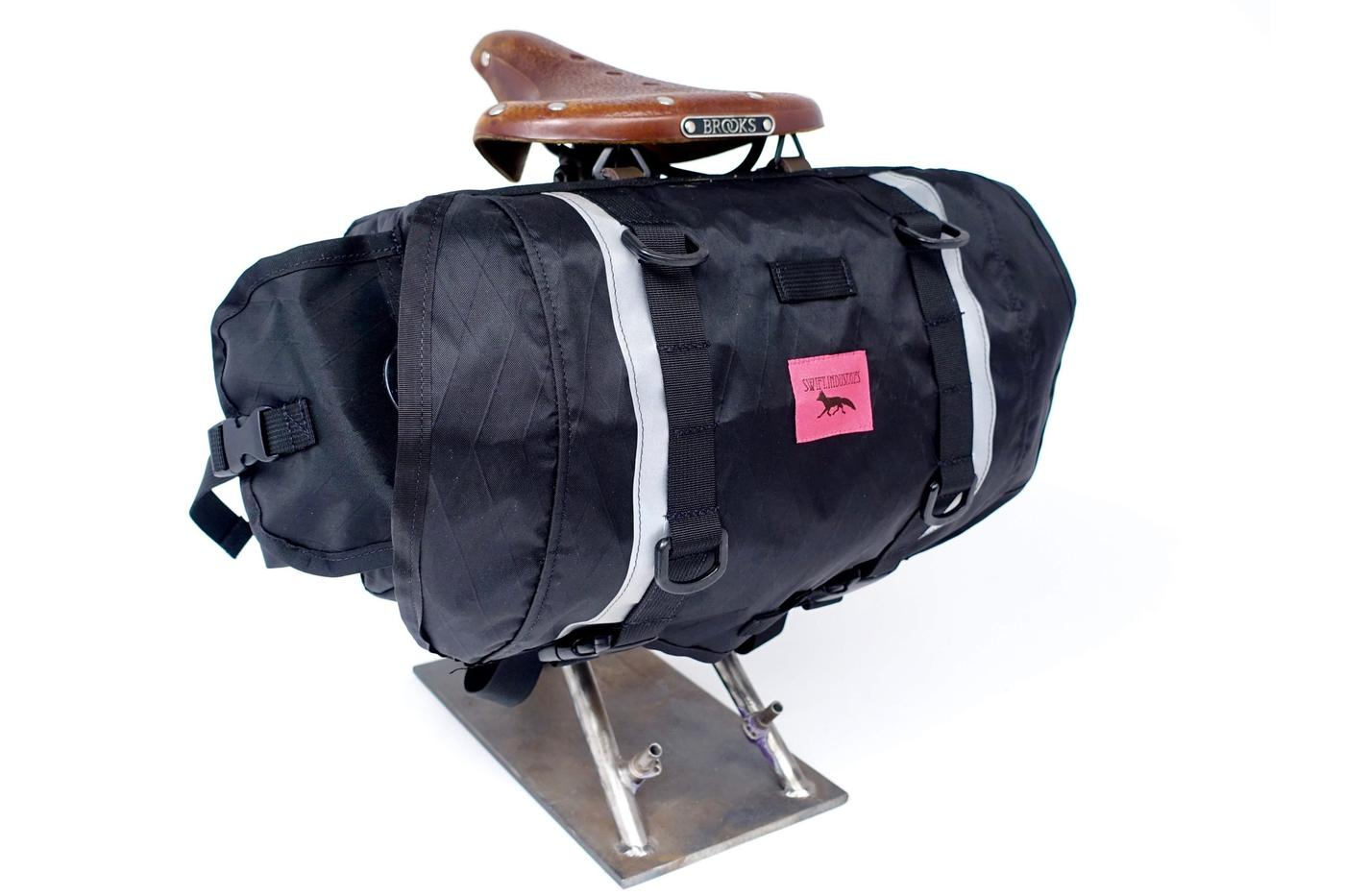 Swift Industries: New Lightweight XPAC Hinterland Zeitgeist Saddle Bag