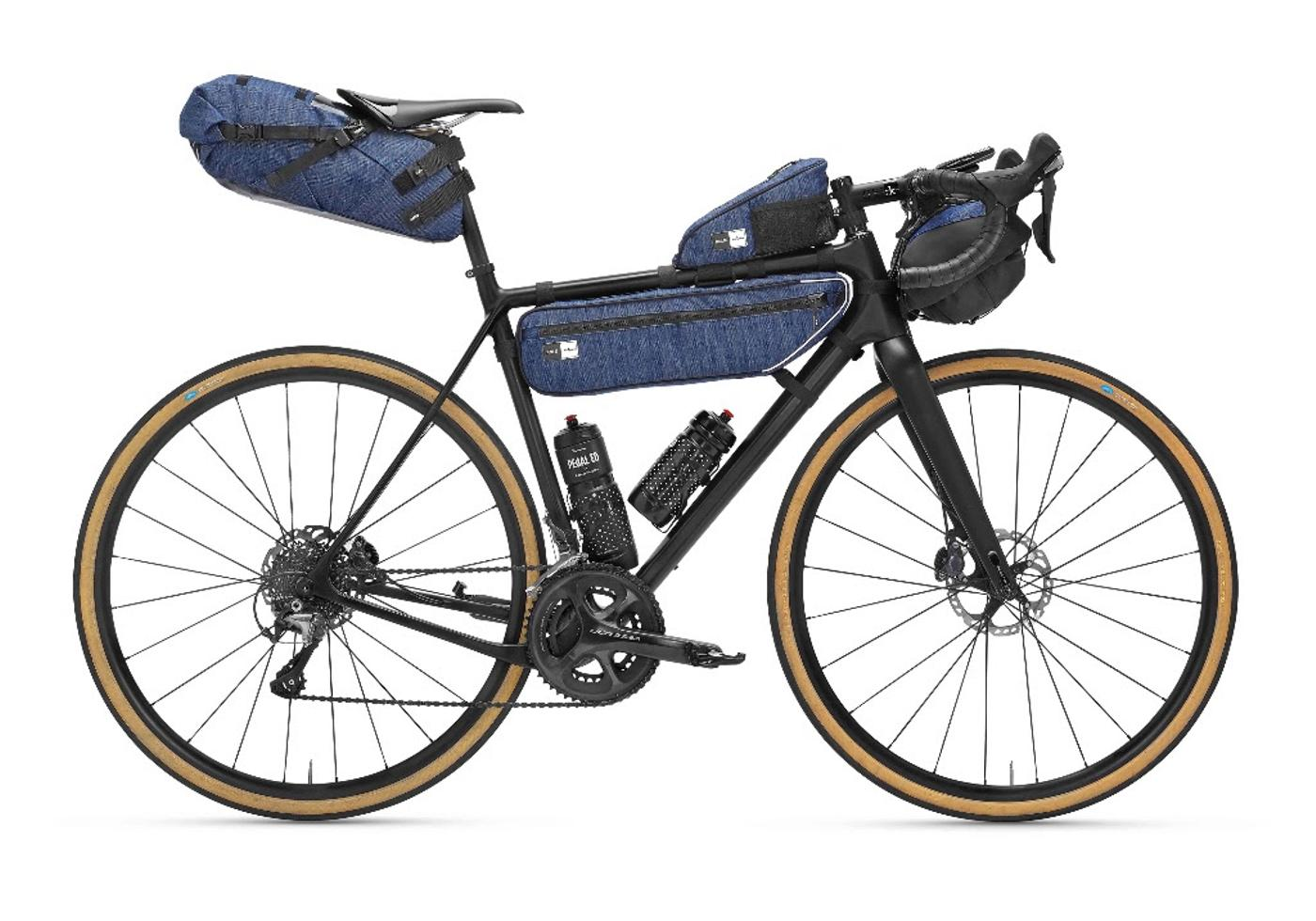 PedalED Launches Bikepacking Bags