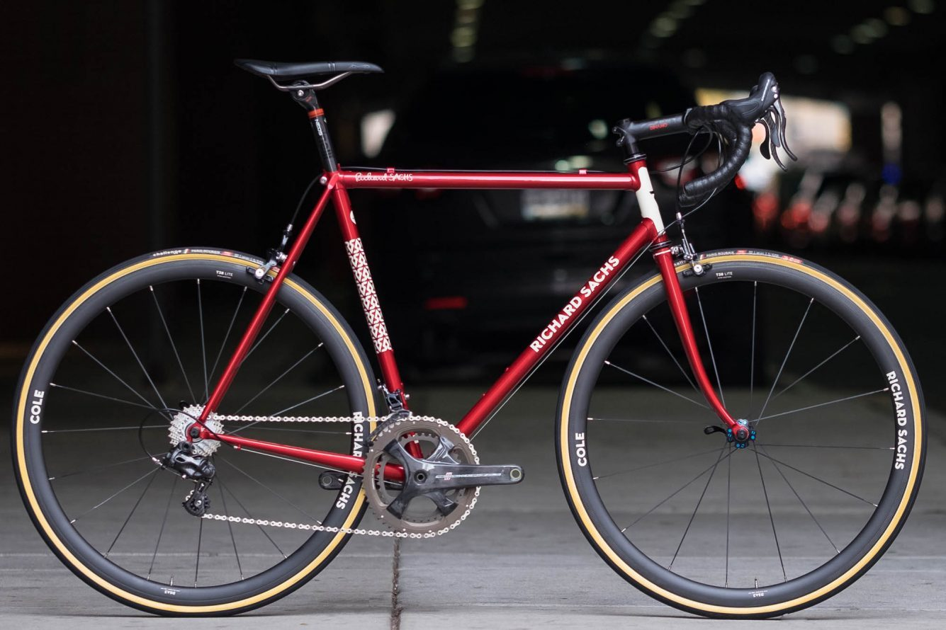 2017 Philly Bike Expo: Richard Sachs Candy Red Road Bike ...