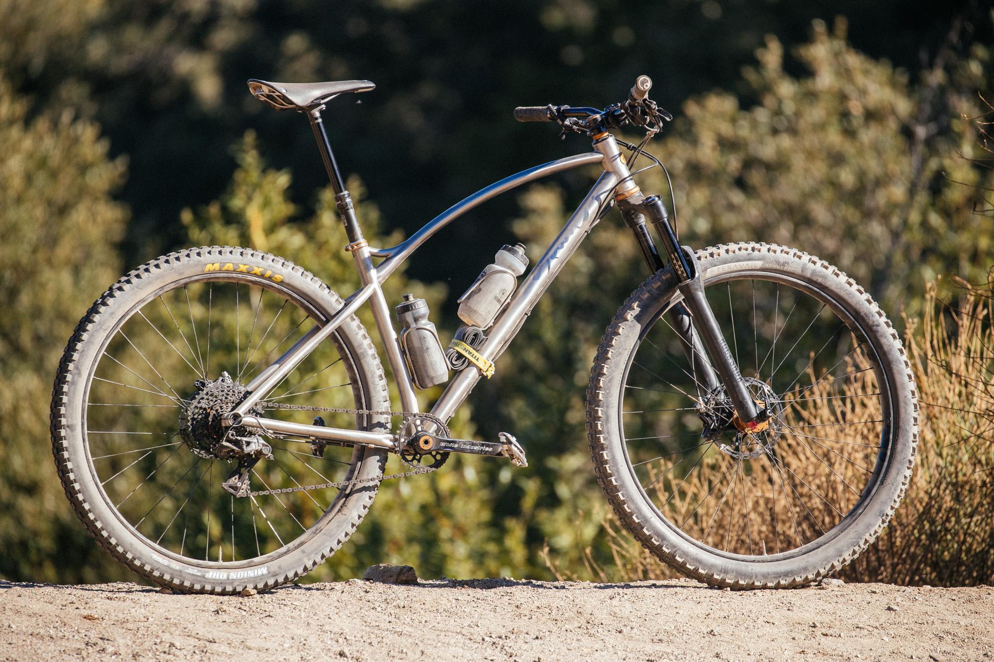 Sklar Bikes Introduce Titanium Frames