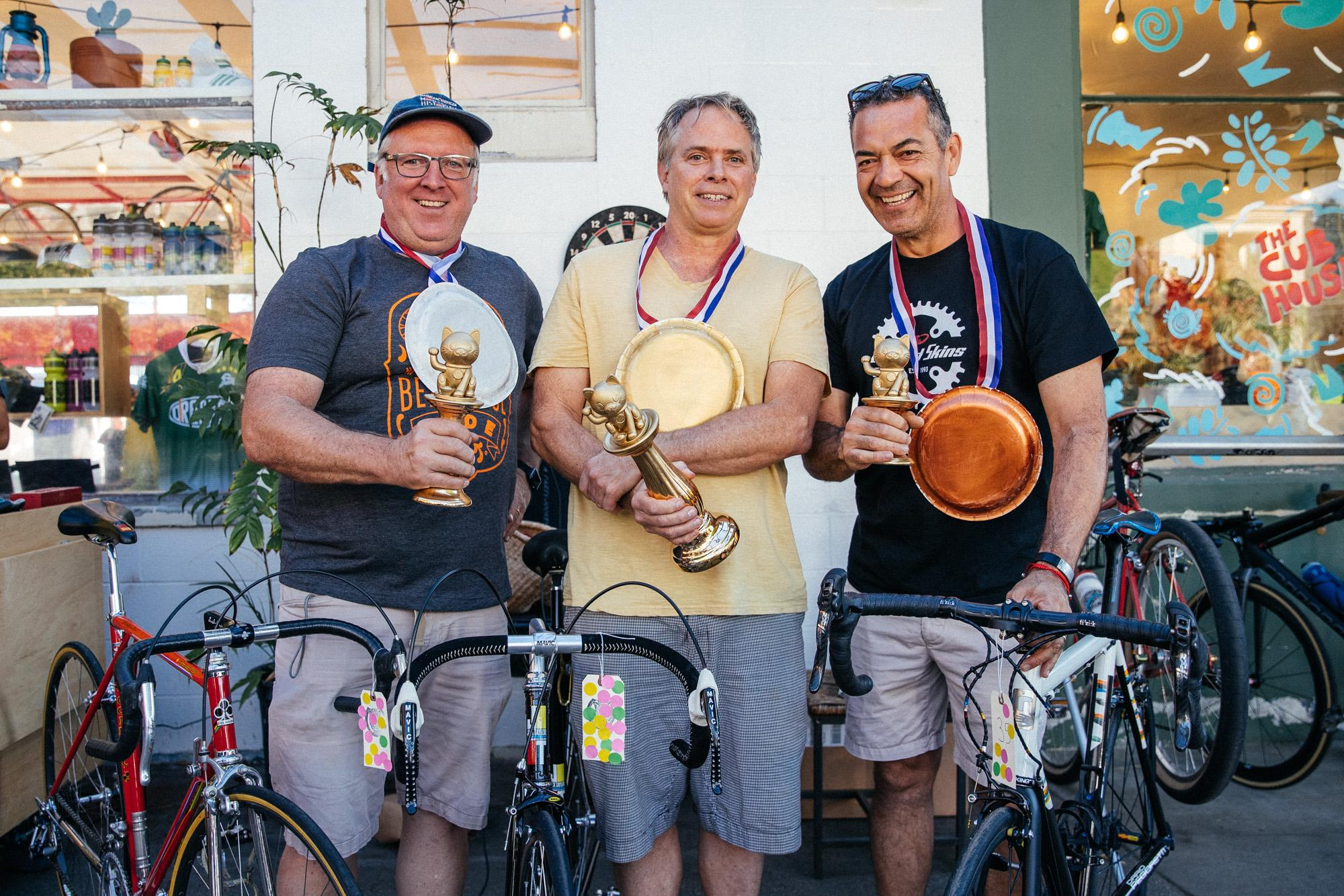 Winners of the Bicycle Show