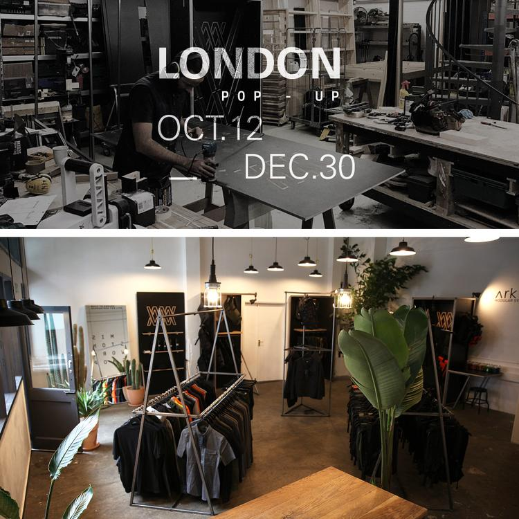 Visit Mission Workshop's London Pop-Up This Holiday Season