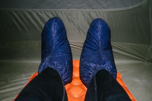 Goosefeet Down Socks