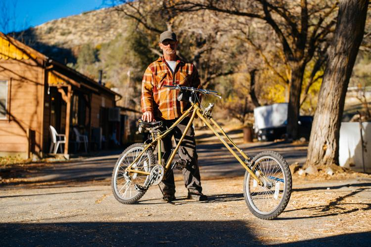 A Random Encounter in the Sequoia: Dave's Hardly Davidson Chopper