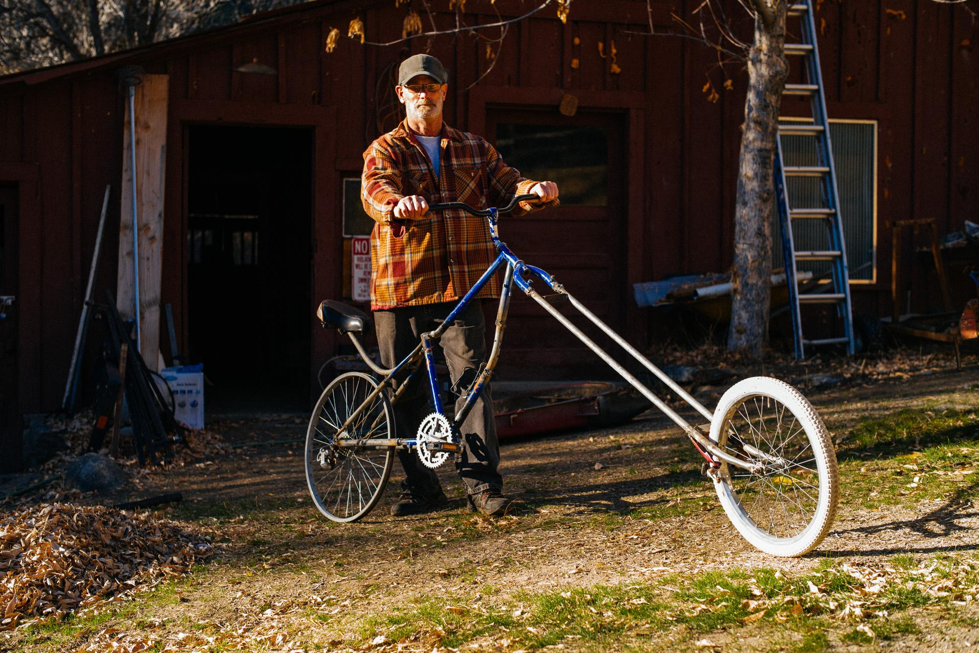 Dave's Unnamed Chopper Project