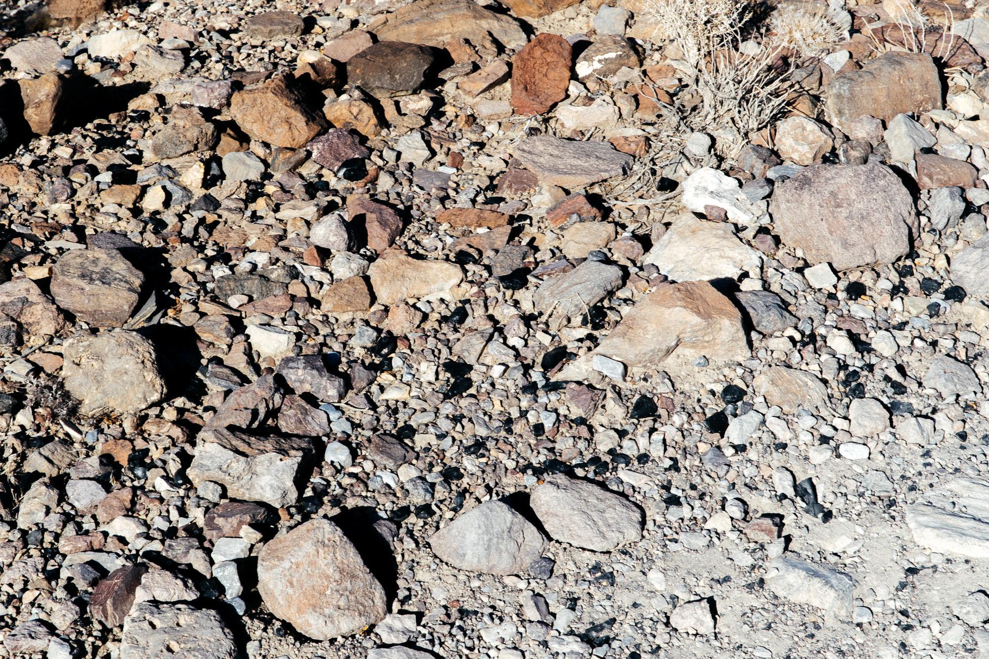 Obsidian field.