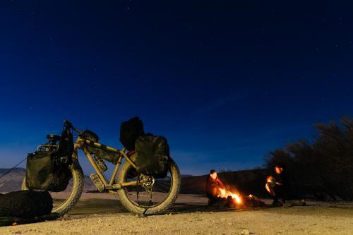Burning the midnight...
