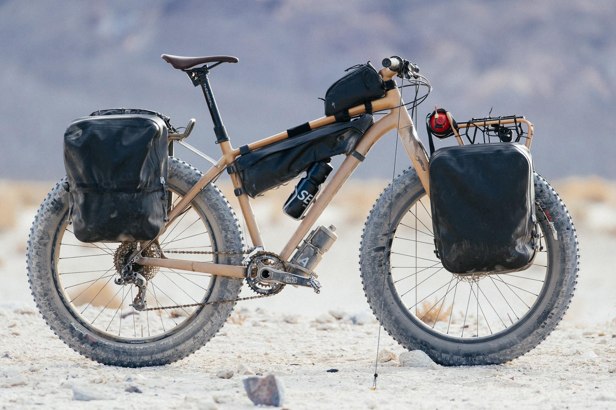 A Death Valley Prospector's Pack Mule: Erik's Desert Sand Fatboy